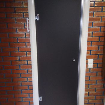 Распашная дверь (Бронза-Мат)